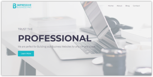 Impressive Business Pro WordPress Theme | VoilaThemes